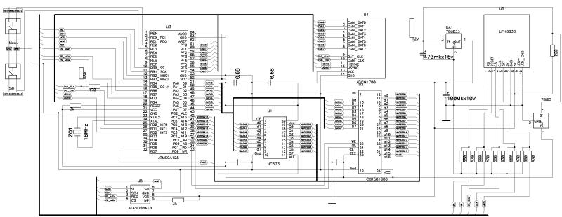 Siemens схема подключения lcd