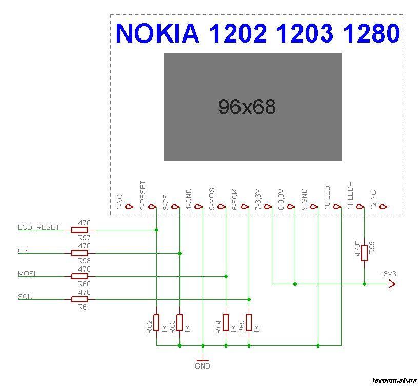 NOKIA-1202 / 1203 / 1280,