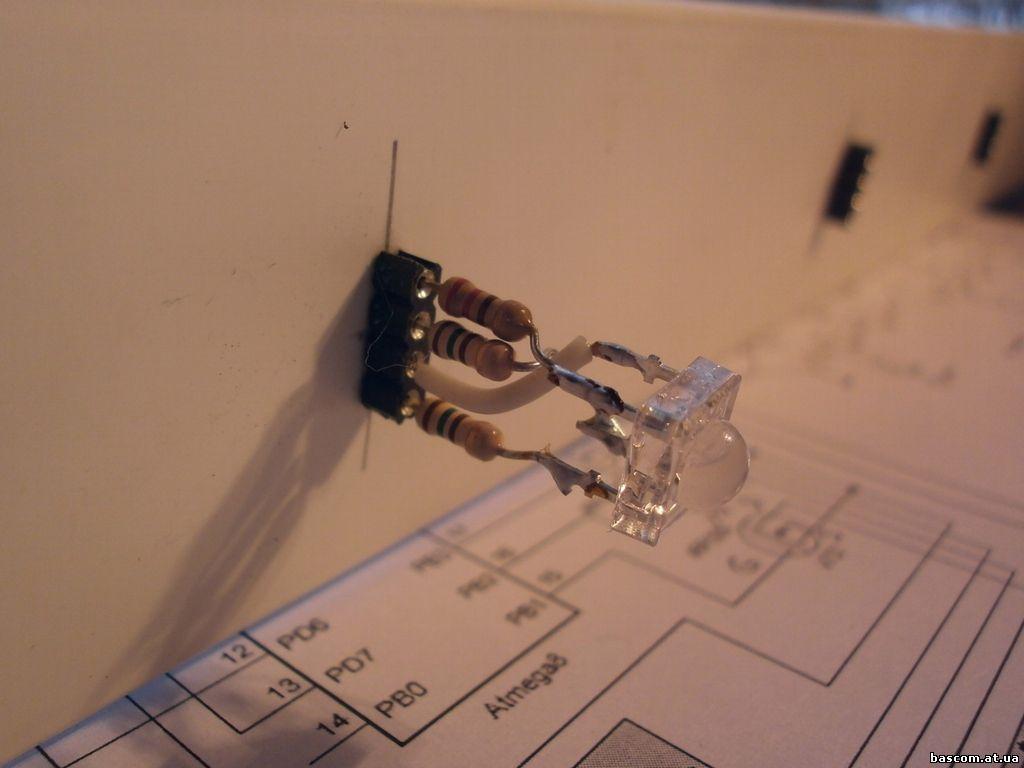 схема и прошивка atmega для rgb lpd6803