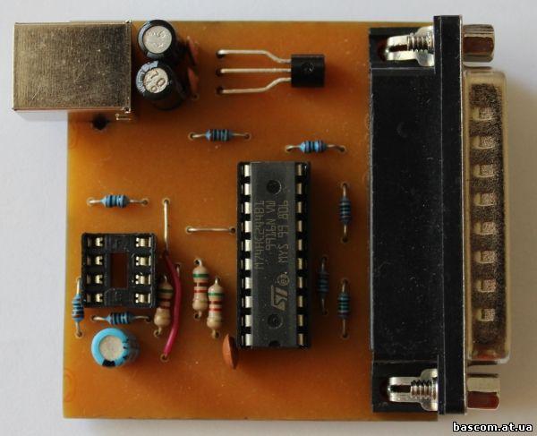 Программатор flash и eeprom своими руками 8